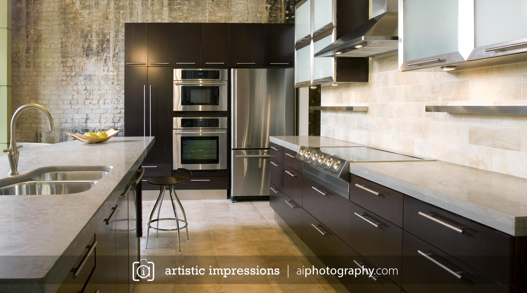 Photographer Winnipeg  Interior Advertising Residential Home Builders Interior Designers  Photography Architecture Rob Everitt Loft Kitchen Part 67