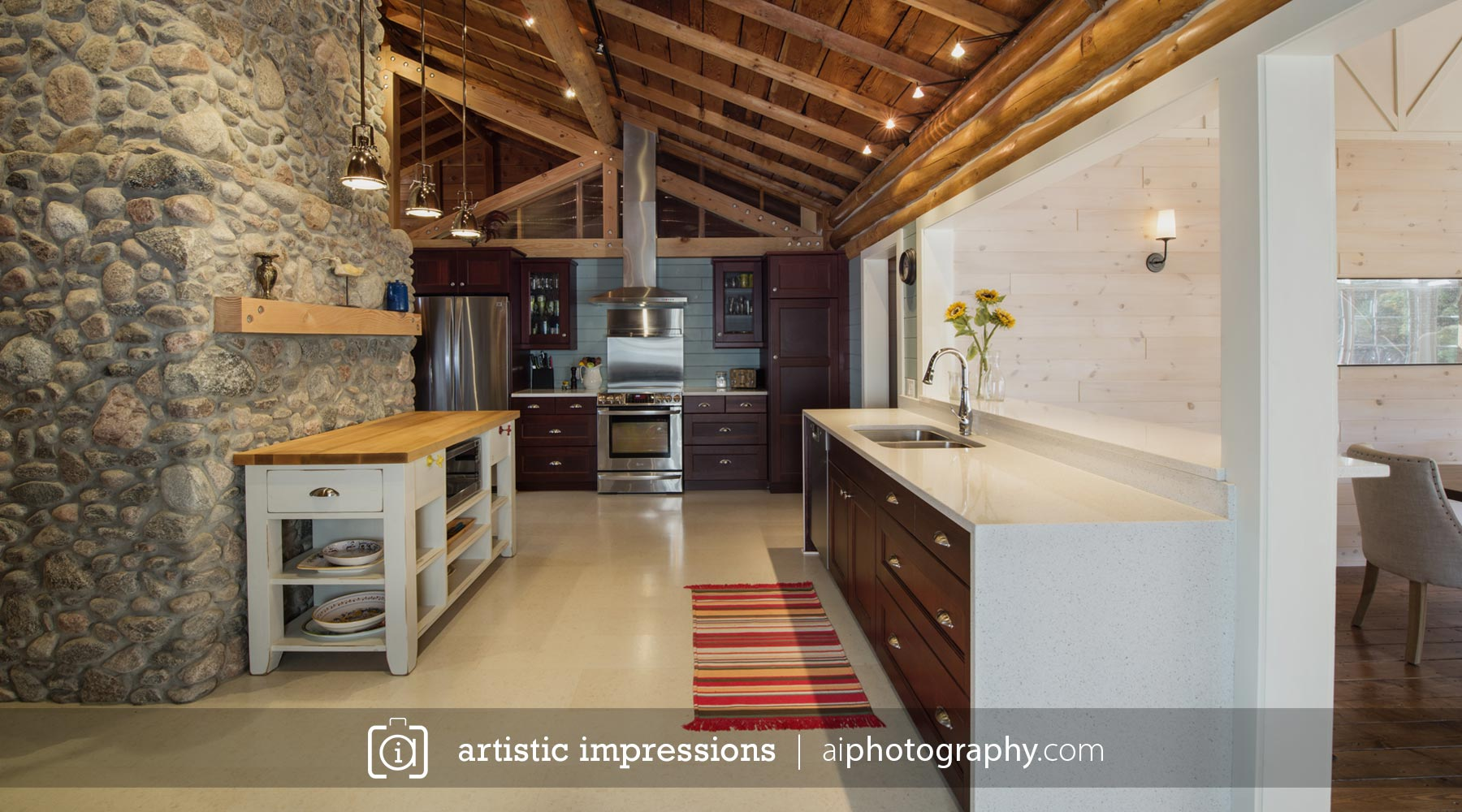 Photographer Winnipeg Interior Advertising Residential Home Builders Designers Photography Architecture Victoria Beach Cottage Sunset 1