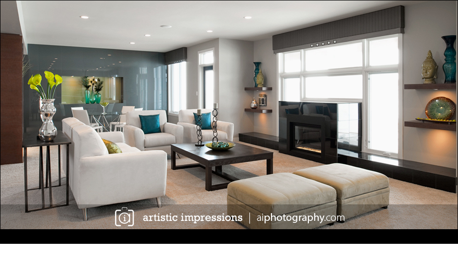 Winnipeg Commercial Interior  Architecture Professional Photographer Photography Studio Fenwick Interior  Design Lottery Home Basement